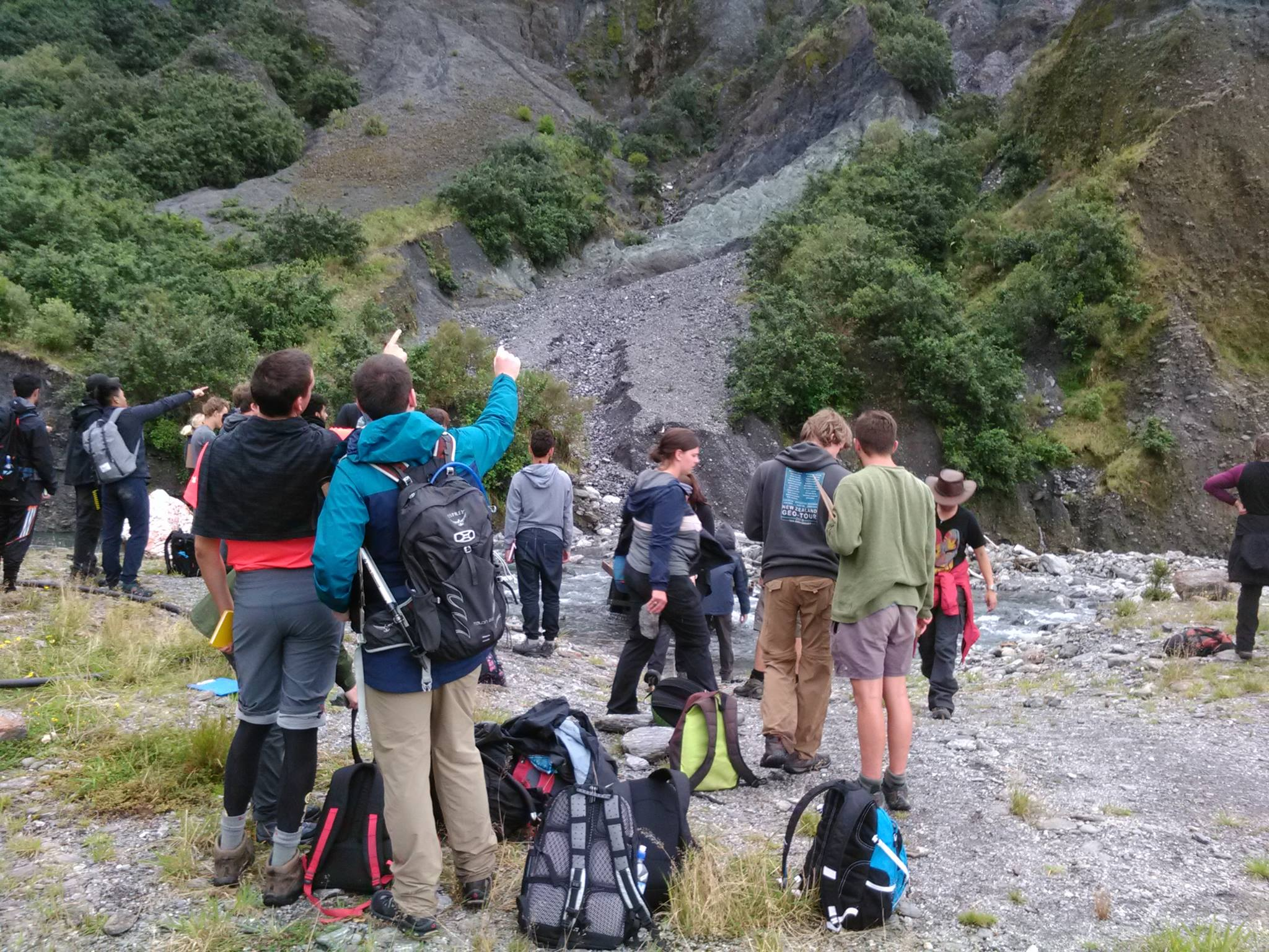 Alpine Fault Tours